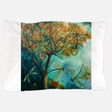 Dragonfly Flirtation Pillow Case