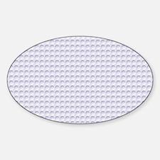 Circle Impression Sticker (Oval)