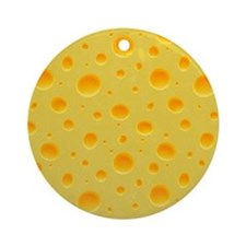 Cheese Section Ornament (Round)