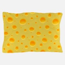 Cheese Section Pillow Case