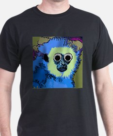 Blue Monkey With Googly eyes T-Shirt