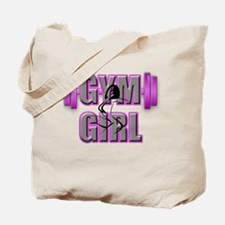 Gym Girl Design 4 Tote Bag