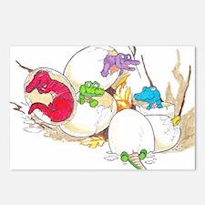 Ten Little Gator Eggs Postcards (Package of 8)