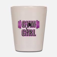 Gym Girl Design 4 Shot Glass