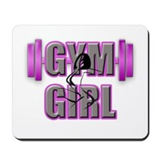 Gym Girl Design 4 Mousepad