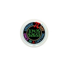 Unique Pi day 2015 Mini Button (10 pack)