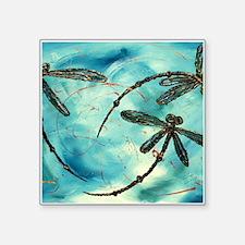 Dragonfly Cloud Sticker