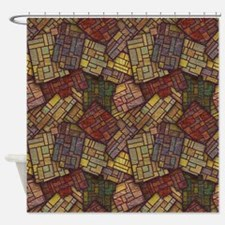 Mosaic Confusion Shower Curtain
