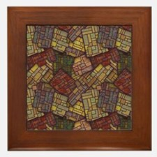 Mosaic Confusion Framed Tile