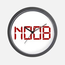 Noob Digital Wall Clock