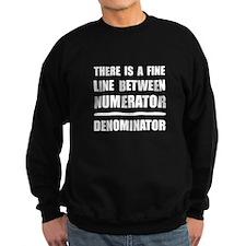 Numerator Denominator Sweatshirt