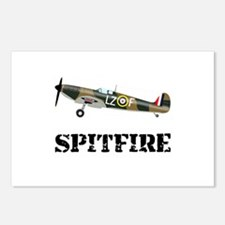 Submarine Spitfire Airplane Postcards (Package of
