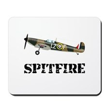 Submarine Spitfire Airplane Mousepad