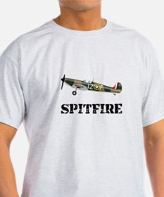 Submarine Spitfire Airplane T-Shirt