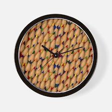Pencil Point Wall Clock