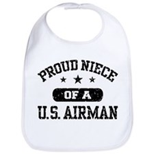 Funny Us air force Bib