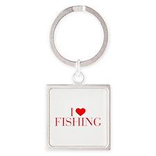 I love Fishing-Bau red 500 Keychains