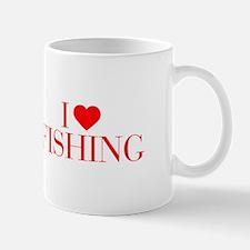 I love Fishing-Bau red 500 Mugs