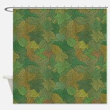 Leaf Crowd Shower Curtain