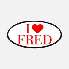 I love FRED-Bau red 500 Patch