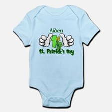 1st St Patty's Day Custom Infant Body Suit