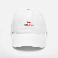 I love Hiking-Bau red 500 Baseball Baseball Baseball Cap