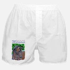 Morgan Horse Boxer Shorts