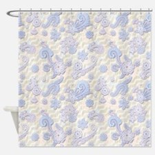 Lace Display Shower Curtain