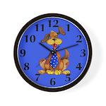 Daddy Dog Clock