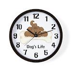 Dog's Life Clock