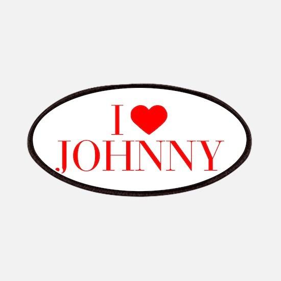 I love JOHNNY-Bau red 500 Patch