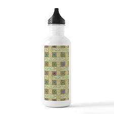 Flower Framework Water Bottle
