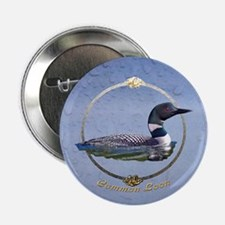 Commom Loon Button