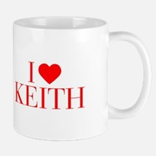 I love KEITH-Bau red 500 Mugs