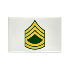 "Army E7 ""Class A's"" Rectangle Magnet (10 pack)"