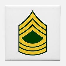 """Army E8 """"Class A's"""" Tile Coaster"""