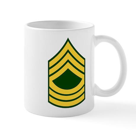 """Army E8 """"Class A's"""" Mug"""