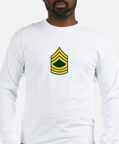 "Army E8 ""Class A's"" Long Sleeve T-Shirt"