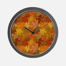 Fall Token Wall Clock