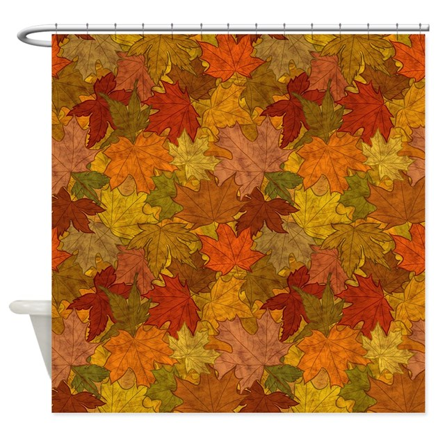 Fall Token Shower Curtain By Patternshoppe