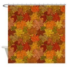 Fall Token Shower Curtain