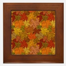 Fall Token Framed Tile