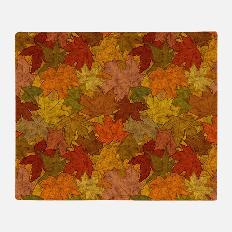 Fall Token Throw Blanket