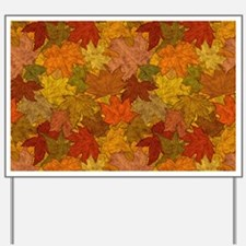 Fall Token Yard Sign