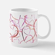 Empty Hearts Small Small Mug