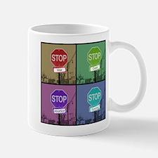 Four-Way Stop Mug