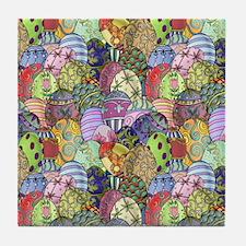 Egg Hunt Tile Coaster