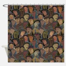 Crowd Puller Shower Curtain