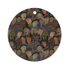 Crowd Puller Ornament (Round)