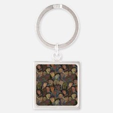 Crowd Puller Square Keychain